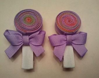 Hairclips - Lollipop