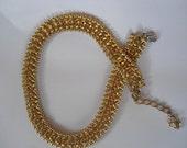 Vintage Golden Chain Necklace