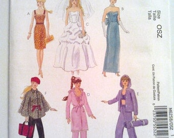 Clothes for 18 inch fashion doll PATTERN to by JanetsCreations77