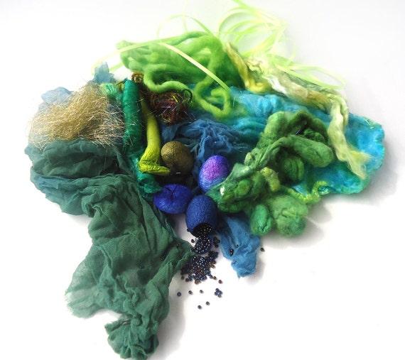 Nunoco Rococo - Inspiration Pack - Greens