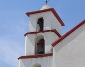 Photography - Church Steeple in Santo Tomas in Mexico - 8x10