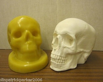 Handmade Supercast Skull latex mould / mold