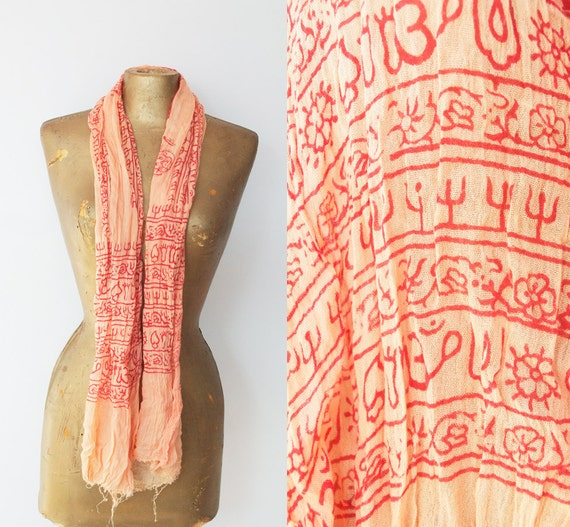 SALE ----- Indian Scarf, hippie style :)