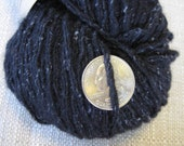 Reclaimed Wool and Silk Blend Yarn: 159 Yards Worsted Weight