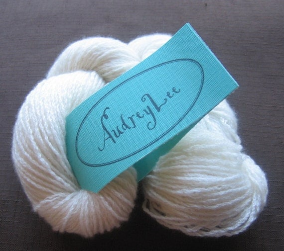 100% Cashmere Fingering Weight Yarn, Over 370 Yards, Reclaimed