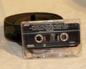 Cassette Tape Belt - Red Hot Chili Peppers
