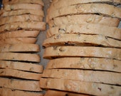 Amazing FLAVORS LARGE Italian Biscotti One Of Kind with Organic flour, egg, sugar, vanilla etc.