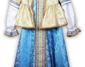 Russian celebration festival dress