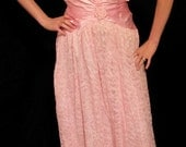Vintage late 70s early 80s Evening Dress