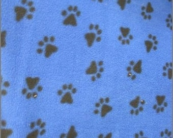 Small Plush Fleece Dog Bed