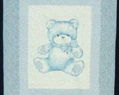 Blue Bear Quilt