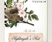 ETSY SHOP BANNERS Nightingale's Nest Etsy Shop Banner Set