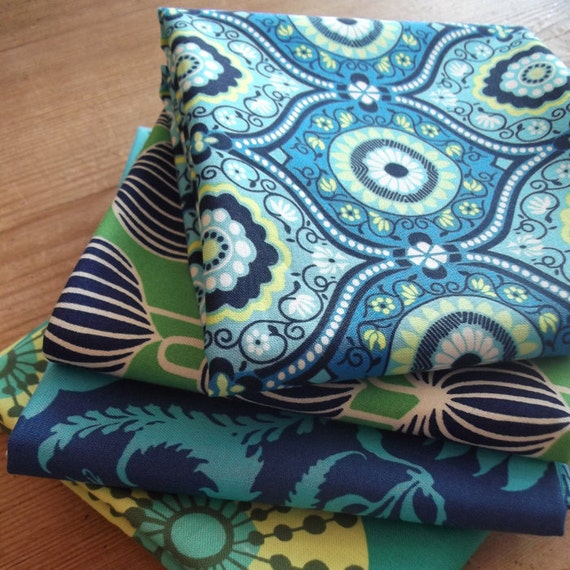 Amy Butler - 4 fat quarter bundle - Lark Collection
