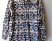 Vintage Navajo Print Shirt M/L
