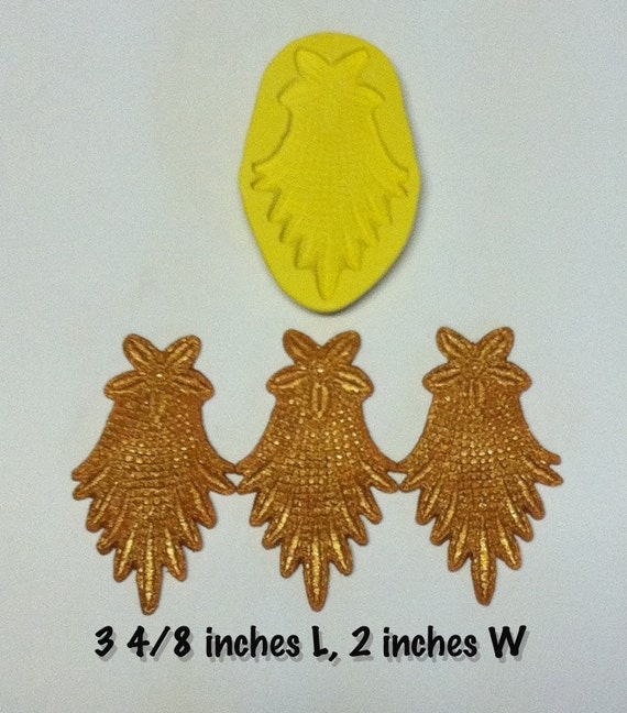 lace silicone mold (victorian lace swag)