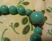 Vintage1960's Turquoise Pearl Necklace