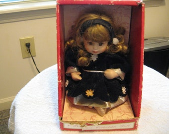 "6"" Porcelain Collectible Doll"