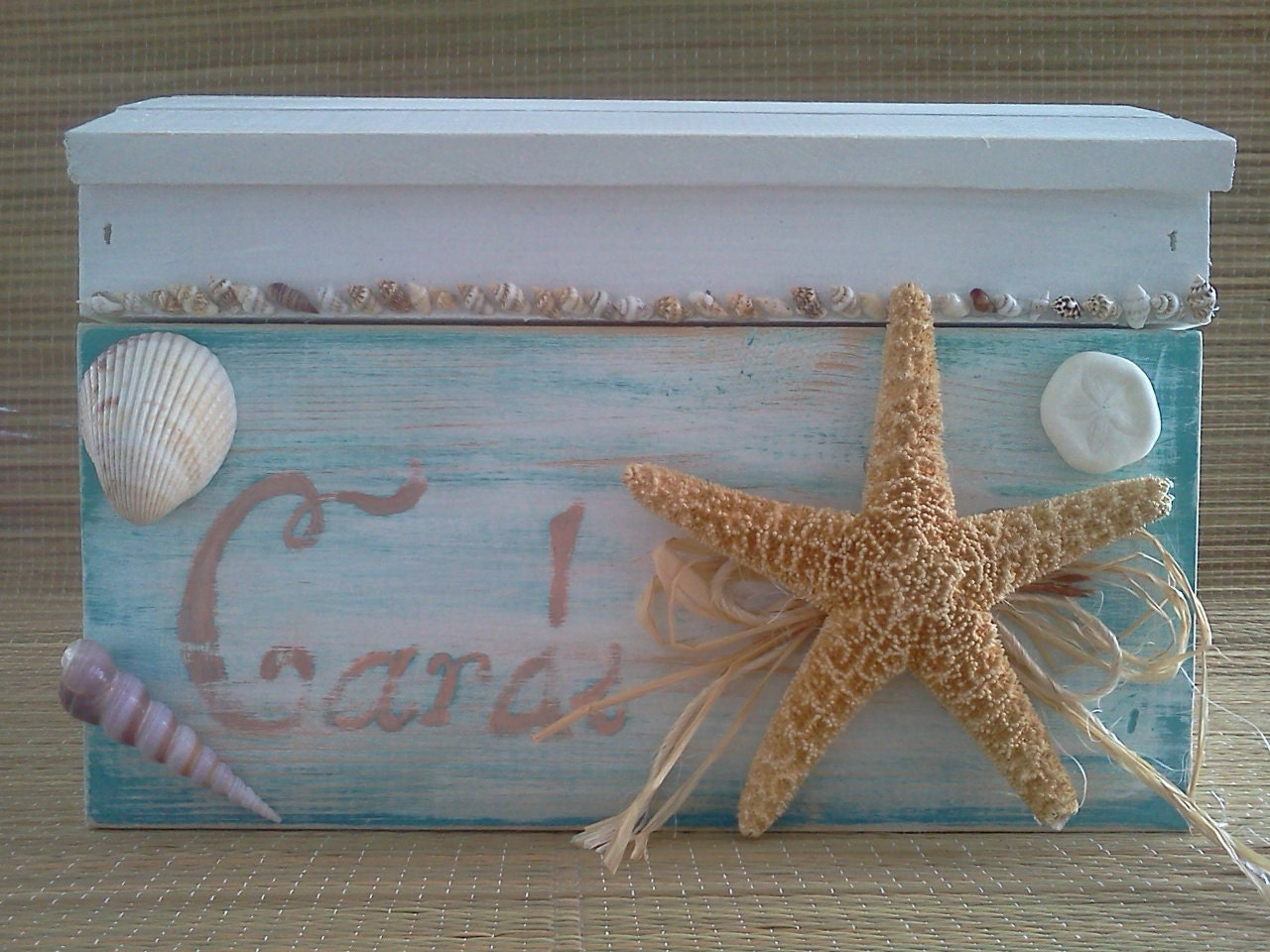 Wedding Gift Card Holder Beach Theme : EtsyYour place to buy and sell all things handmade, vintage, and ...