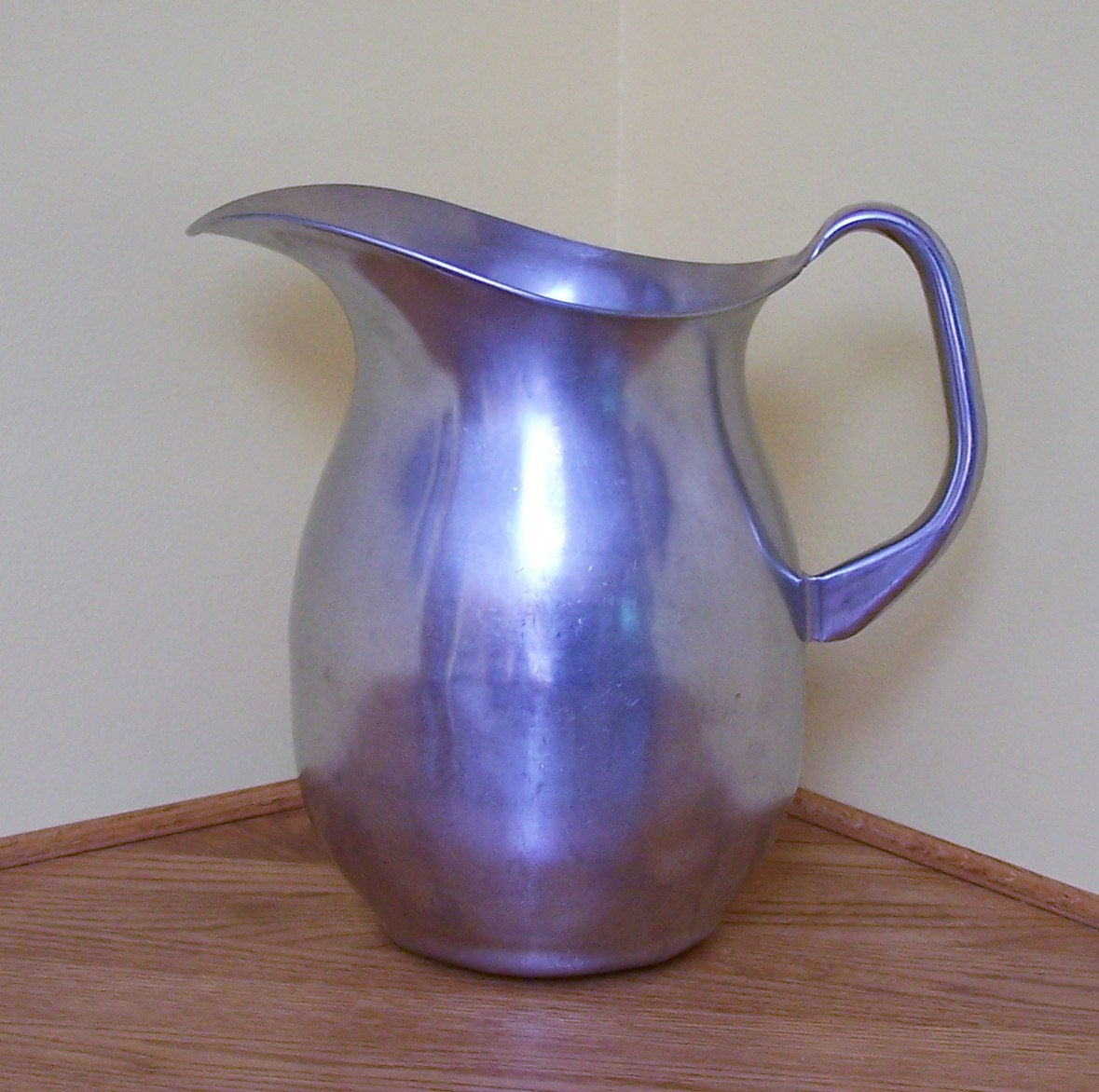 Vintage Stainless Steel Pitcher Large Vollrath By