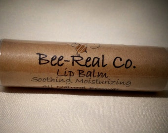 All Natural Lip Balm with Beeswax