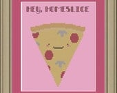 Hey, homeslice: pizza cross-stitch pattern