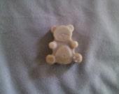 Teddy Bear shaped soy wax melting tarts - Hazelnut Coffe Scent