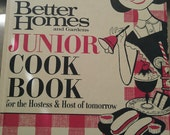 Vintage Better Homes and Gardens Junior Cook Book