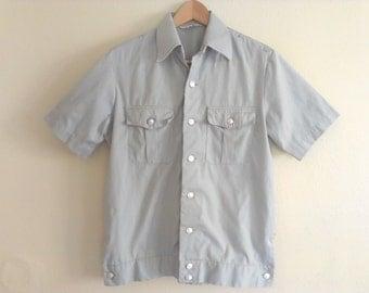 80s vintage military shirt men  eightieslarge