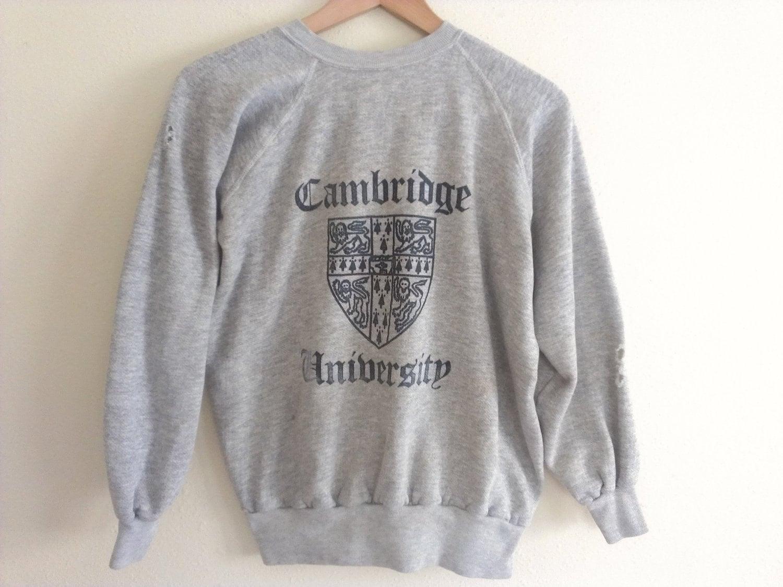 80s vintage cambridge eighties sweatshirt from