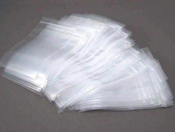 100 - 2 x 3 Ziplock bags - Recloseable Poly Bag