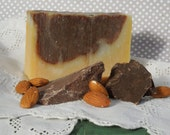 Chocolate Almond with Cocoa Butter Handmade Cold Process Soap