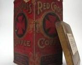 Red Cross Coffee Tin