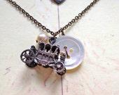 Cinderella Royal Carriage Necklace