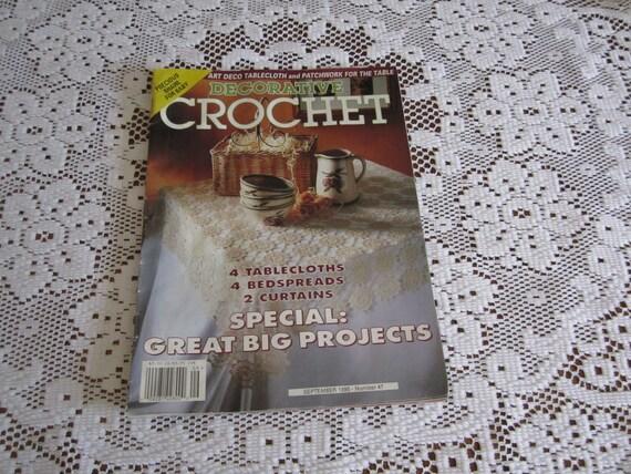 Decorative Crochet issue 47 September 1995 Magazine
