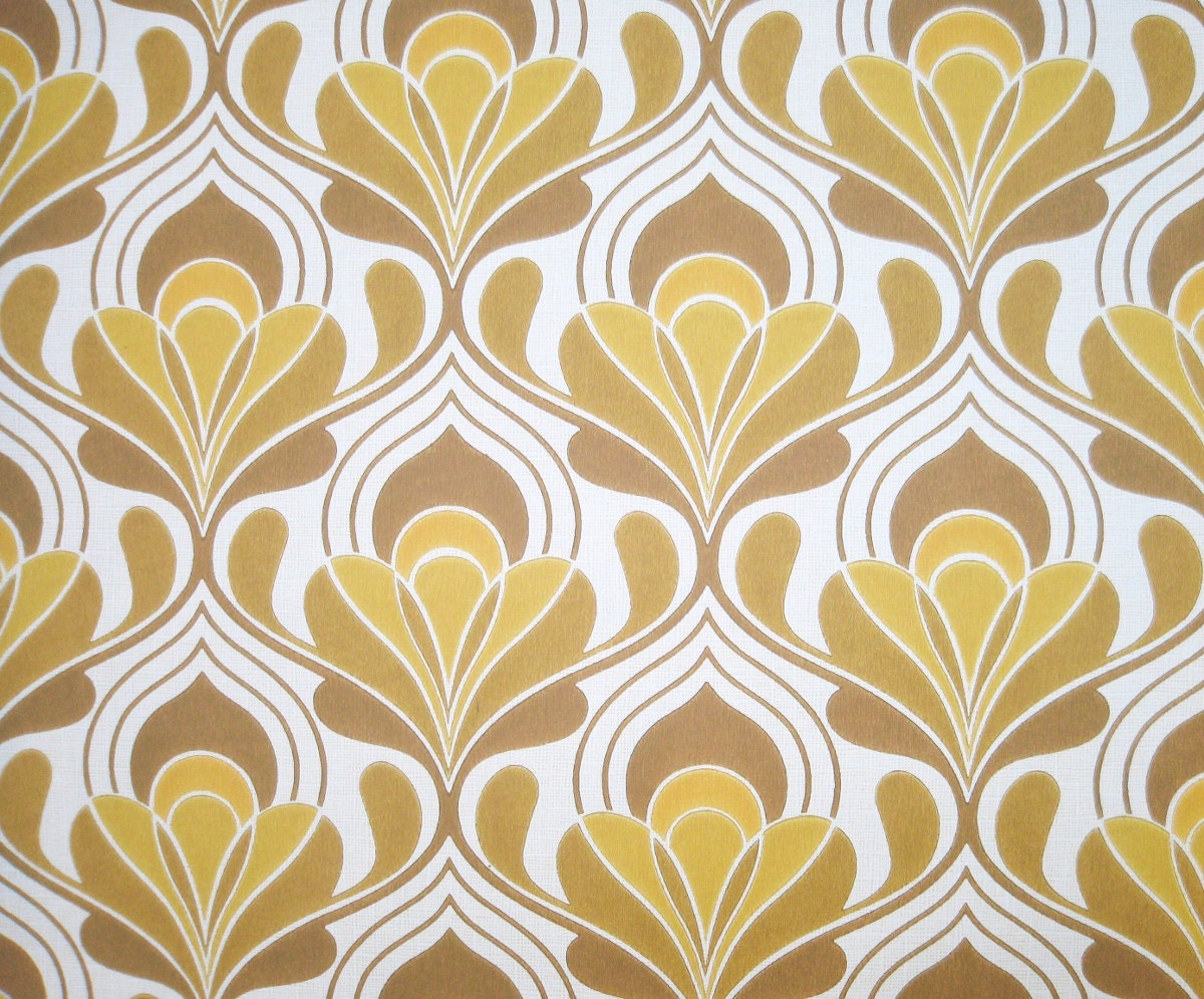 1970s vintage wallpaper retro - photo #1