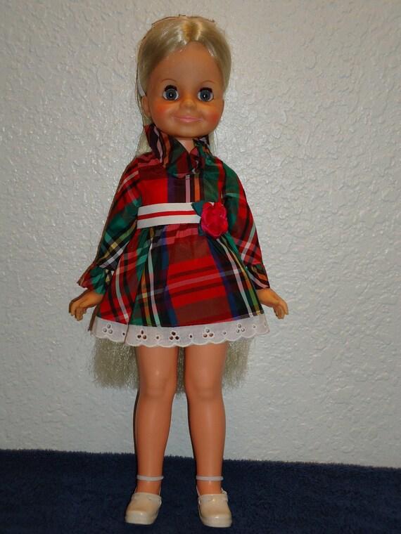 Crissy Family Doll Velvet Gently Refurbished & Beautiful