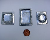 Soldered bezel trio, Mixed Metal, Altered Art, Jewelry Supply