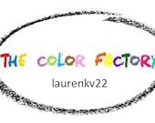 6 Color Factory Jumbo monster truck color- Privet listing for laurenkv22