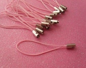 15 pink cell phone straps, make your own cell phone charms, diy