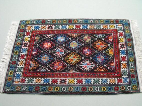 Items Similar To Miniature Oriental Rug Kit On Fine Silk