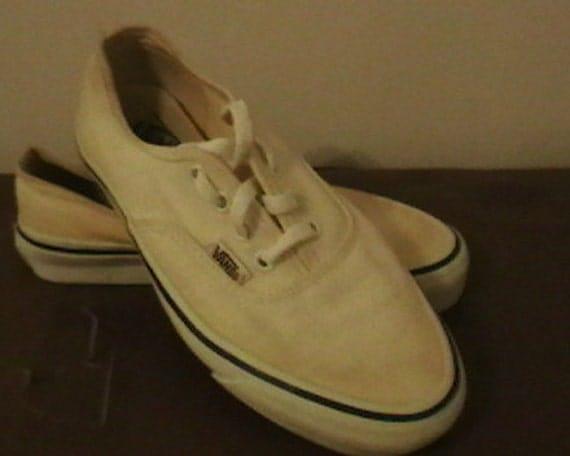 1980's Classic Vans Shoes Girl's/Ladies Size 4-1/2