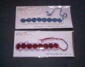 Crocheted gift bookmarks