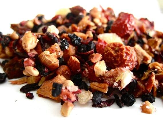 Tea - Pomegranate Pear - No.31 : 2oz - Organic Caffeine Free - Fruit Blend