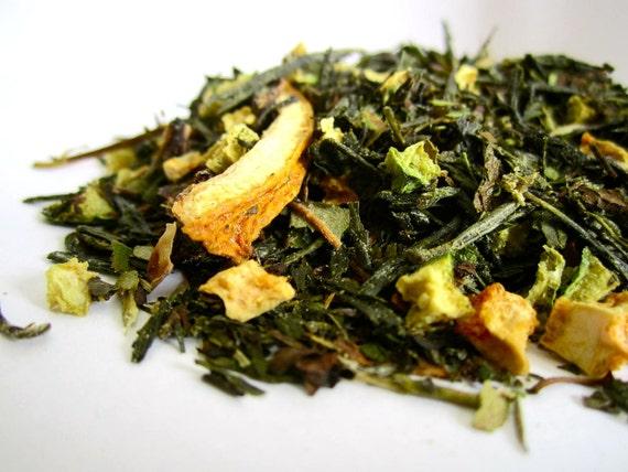 Tea - Cucumber Mojito - No.25 : 2oz - Organic Green Tea