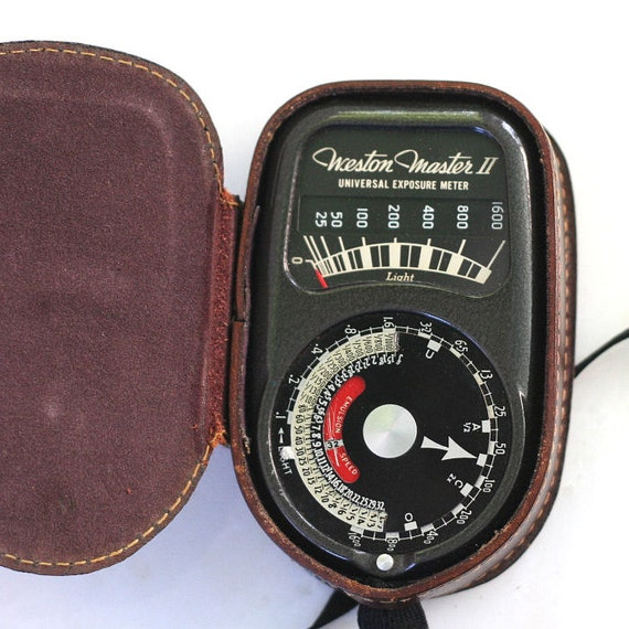 Weston Master II Universal Exposure Meter Light Meter Model 735