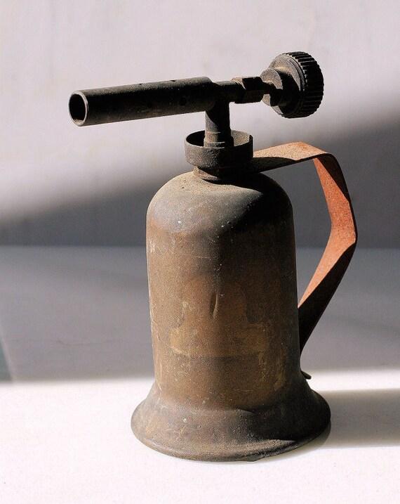 Vintage gasoline blow torch