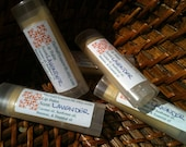 Herbal Lip Balm- Lavender - All natural, beeswax, herbal, essential oil