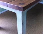 Handmade Cedar Kitchen Table-Pottery Barn Style