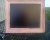 5 x 7 Shabby Chic Distressed Chalkboard Frame FREE SHIPPING UNTIL 3/1/13