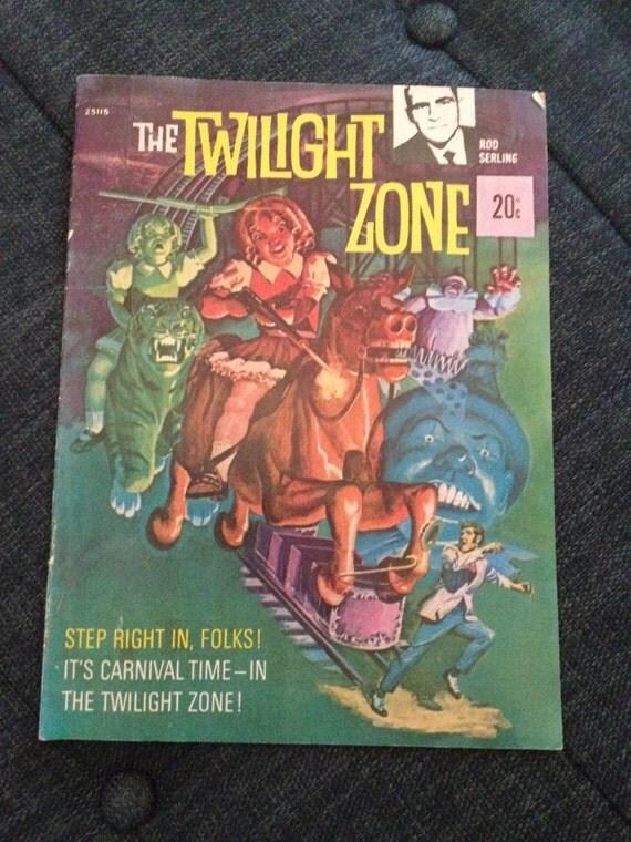 1970's Australian edition Twilight Zone comic book